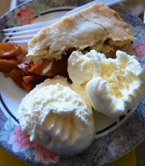 Apple Pie, Ice Cream, Dessert, Thanksgiving