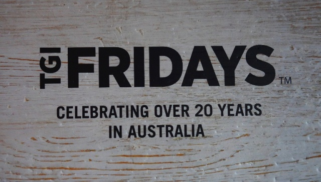 TGI Fridays, Australia, Course Dinner