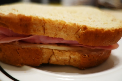National Sandwich Day, Ham and Swiss, Home Pride Wheat Bread