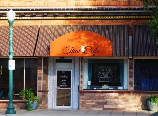 Tracy, California, Thai Cafe, Tracy Thai Cafe