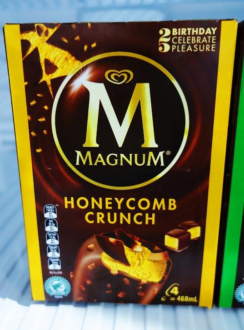 Honeycomb Crunch Magnum, Magnum Bars, Magnum Flavors, Australia