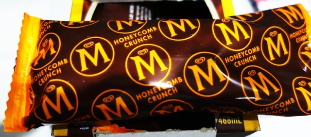 Honeycomb Crunch, 25th Anniversary,  Magnum Bars, Ice Cream