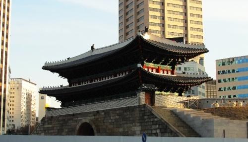Namdaemun Gate, Seoul, South Korea, Late Night Restaurant
