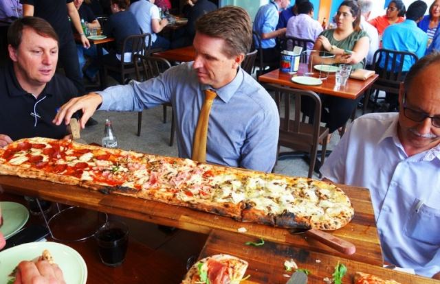 Verace Pizzeria, Metre of Pizza, Pizza, Italian Food
