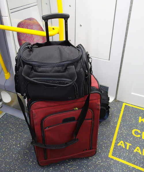 Luggage, Clifford the Big Red Suitcase, Sydney Rail