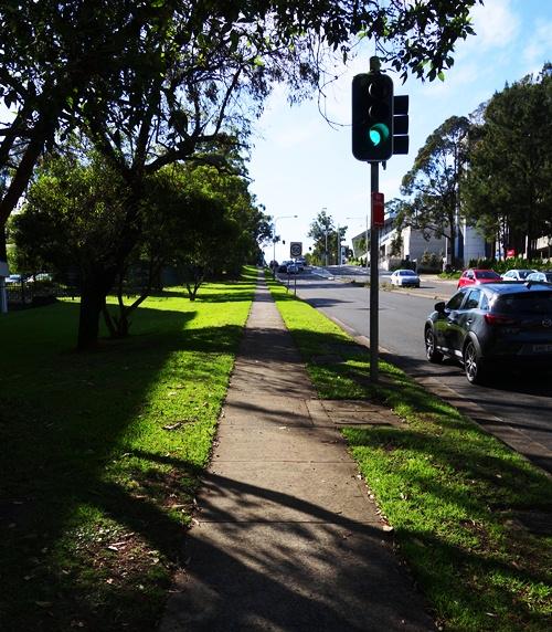 Uphill Walk, Walk to Work, Sydney, Australia, North Ryde