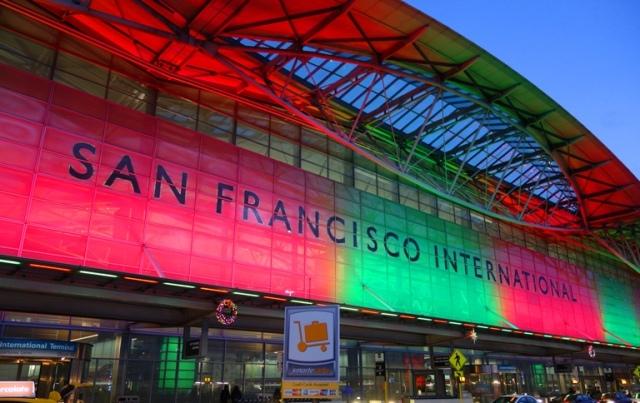 International Terminal, San Francisco, SFO, Christmas at SFO