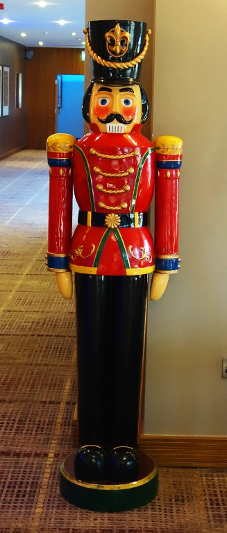 Life Size Toy Soldier, Nutcracker, Holiday Decorations