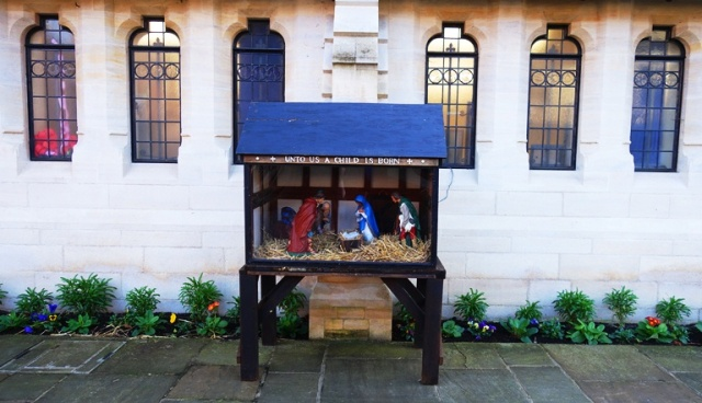 Nativity Scene, Stony Stratford, England, Holiday Decorations, Christmas