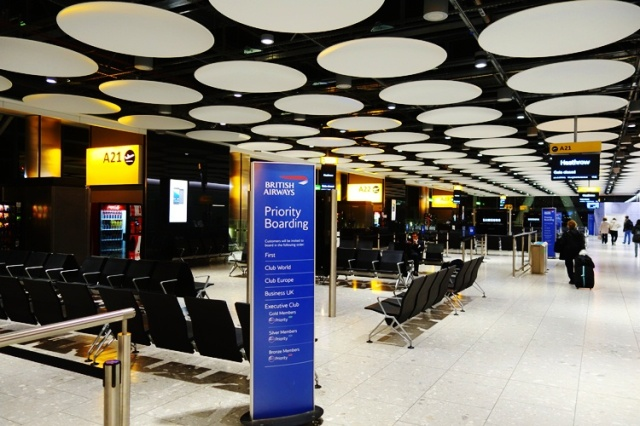 London Heathrow, British Airways, Long Layover
