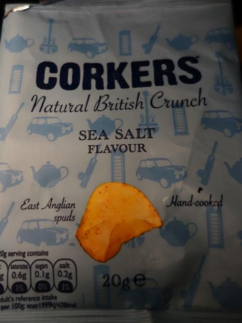 Snack on Plane, British Airways, Glasgow, Heathrow