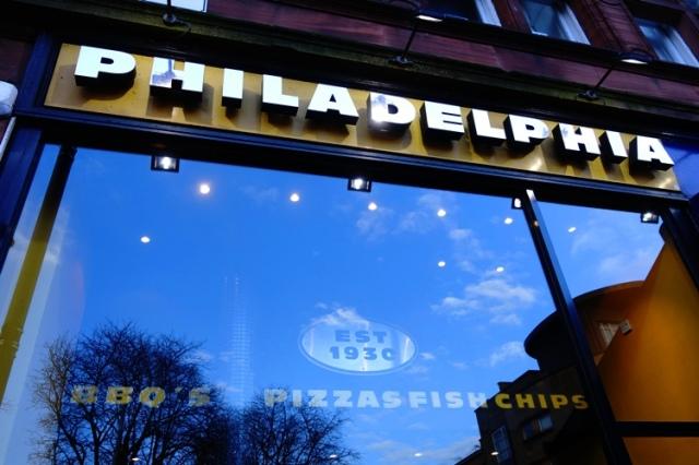 Philadelphia Restaurant, Glasgow, Scotland, Fish and Chips, Irn-Bru