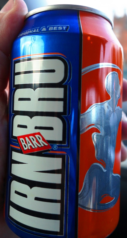 Irn-Bru, Scotland, Soft Drink, Carbonated Beverage, Iron Brew
