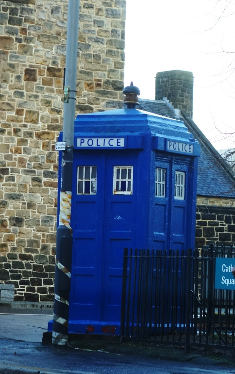 Police Call Box, Tardis? Blue Call Box, Dr. Who