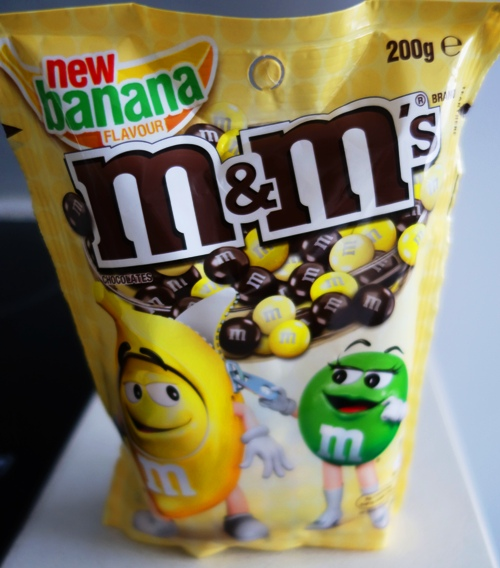 Banana Flavor, Banana M&M's, M&M's, Flavored M&M's