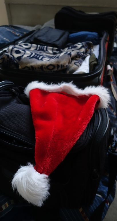 Santa Hat, Travel, Scotland, England