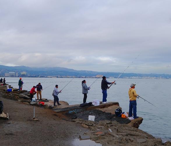 Fishing, SFO Airport, Peninsula Avenue, Plane Spotting