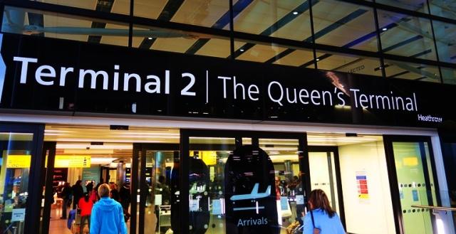Heathrow, Terminal 2, The Queen's Terminal