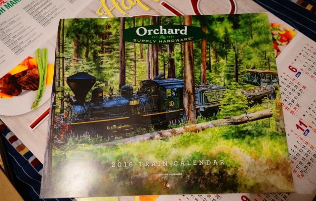 Orchard Hardware, OSH, Calendar, 2016