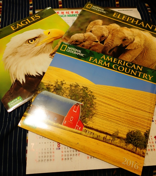national geographic, Calendars, Elephants, Bald Eagles, Barns
