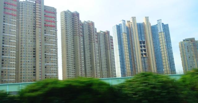 Residential High Rises, Shanghai, Skyscrapers