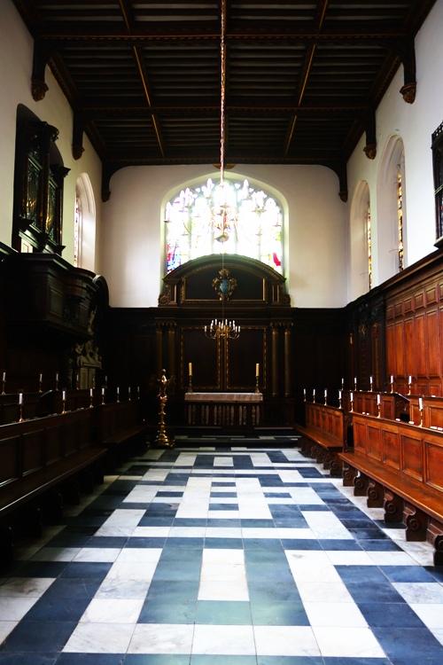 Christ's College, Cambridge University, Christ's College Chapel, Richard Bernerd