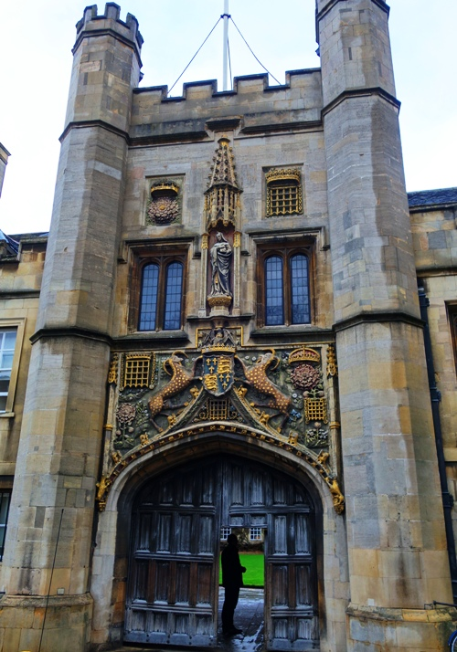 Christ's College, Cambridge University, Richard Bernerd, Great Gate, St. Andrews Street