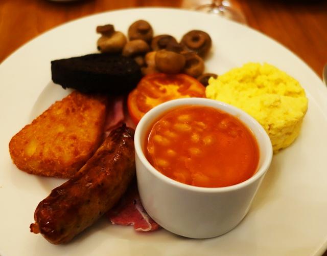 English Breakfast, Food, Sausage, Eggs, Bacon, Beans