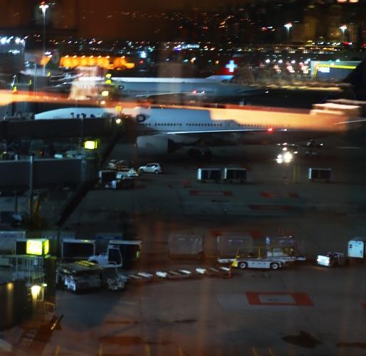 SFO, San Francisco International Terminal, United Club