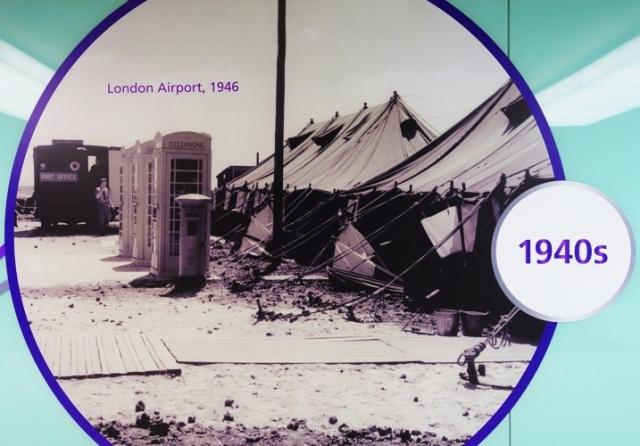 London Airport 1946, Heathrow, England, Flying