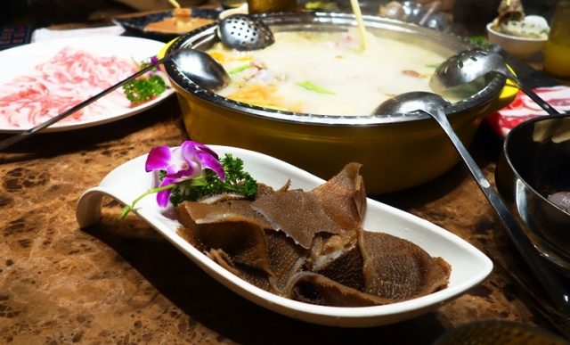 Hot Pot, Ox Stomach, Sliced Meats, Broth, Chinese Cuisine, Chinese Food
