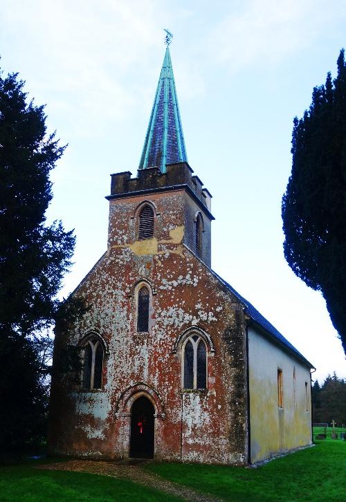 Steventon Church, Jane Austen, Hampshire, Rector