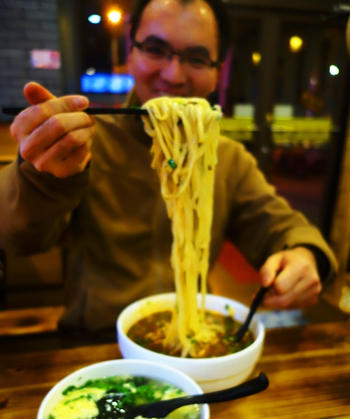 Noodles and Chopsticks, Long noodles