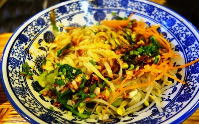 Xian Noodles, Bowl of Noodles, Xian Noodle Shop