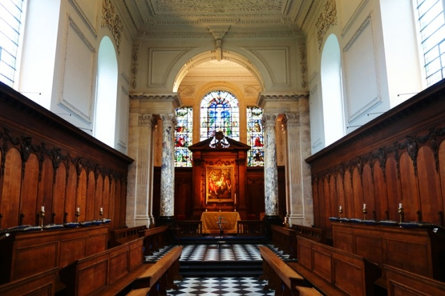Pembroke College Chapel, Christopher Wren, Architecture