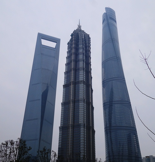 Jin Mao, Shanghai World Financial Centre, Shanghai Tower, Tallest Buildings, skyscrapers