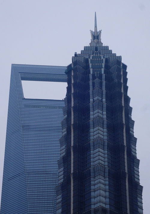Shanghai World Financial Center, Jin Mao Tower, Pudong, Shanghai, China