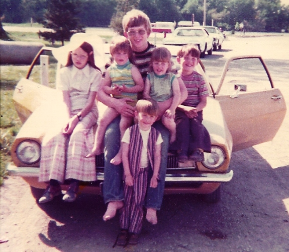 Cousins, Uncle, Ottumwa, Iowa, Park, Memories