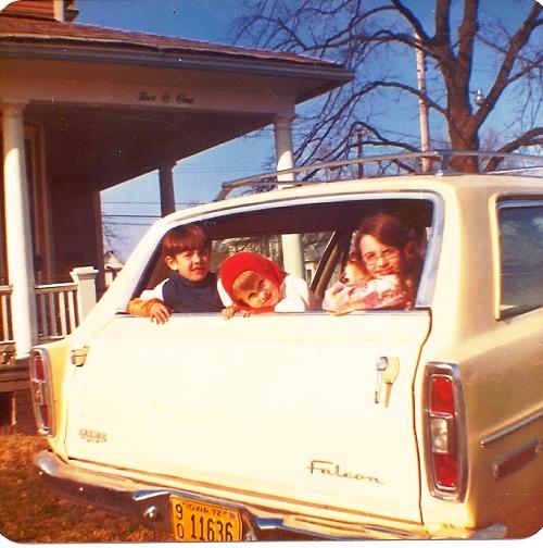 Ottumwa, Iowa, Falcon, Station Wagon, Memories
