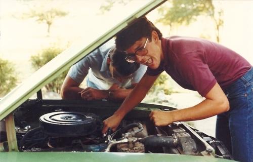 Fuel Filter, Mechanic, Working on Car, Car Repair