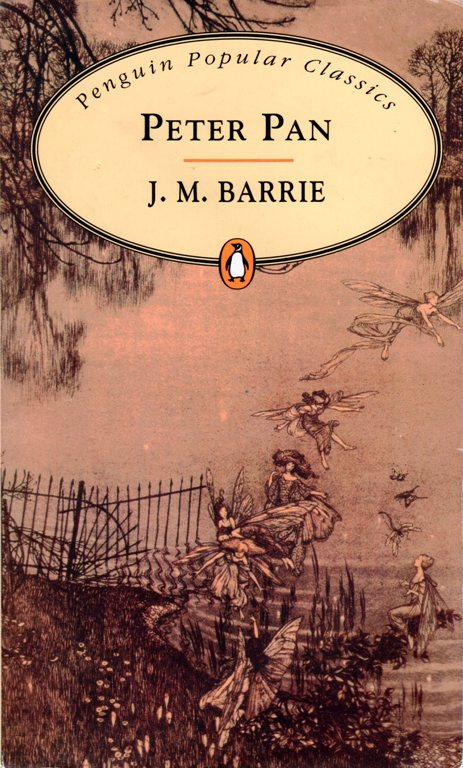 Peter Pan, J. M. Barrie, First Lines, Penquin Popular Classics, literature, books