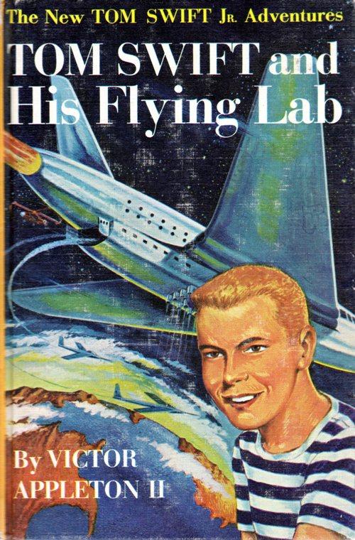 Tom Swift and His Flying Lab, Victor Appleton II, Grosset and Dunlap, Tom Swift Jr.
