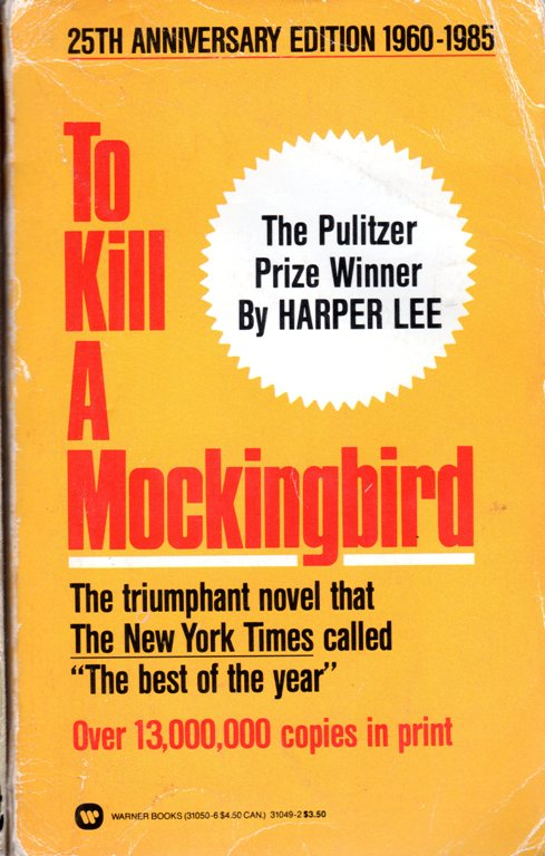Harper Lee, To Kill a Mockingbird, Pulitzer Winner