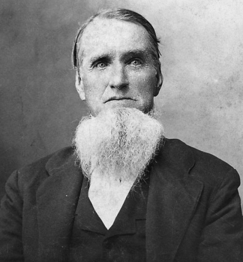 Isaac Grenawalt, 3rd great uncle, Kentucky, Iowa, beard
