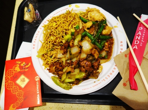 Panda Express, Chinese New Year, Red Packet, Chop sticks, American Chinese Food