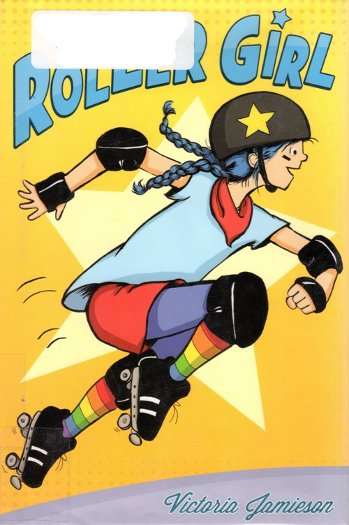 Roller Girl, Graphic Novel, Victoria Jamieson, Newbery Honor Book