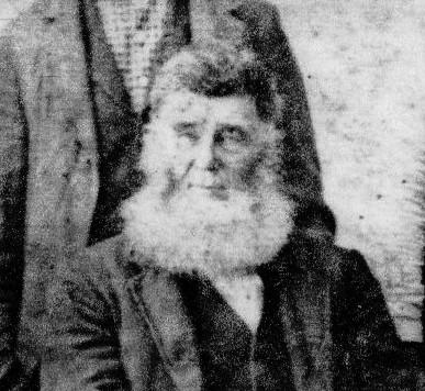William Absolom Leeper, Ancestors, Beard, 3rd Great Grandfather