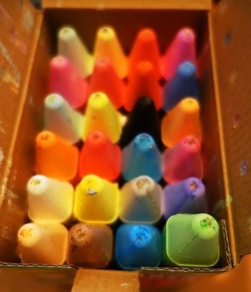 Crayola Chalk, 24 count, colors, chalk
