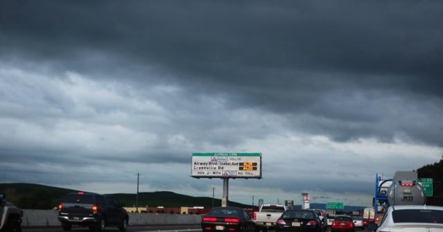 Cloudy Sky, Express lanes, 580, Dublin, Livermore