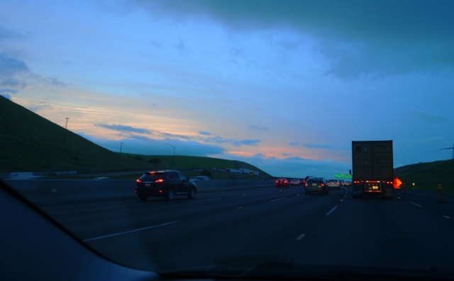 Colorful sky, Opposite sunset, backset, Altamont, stormy sky